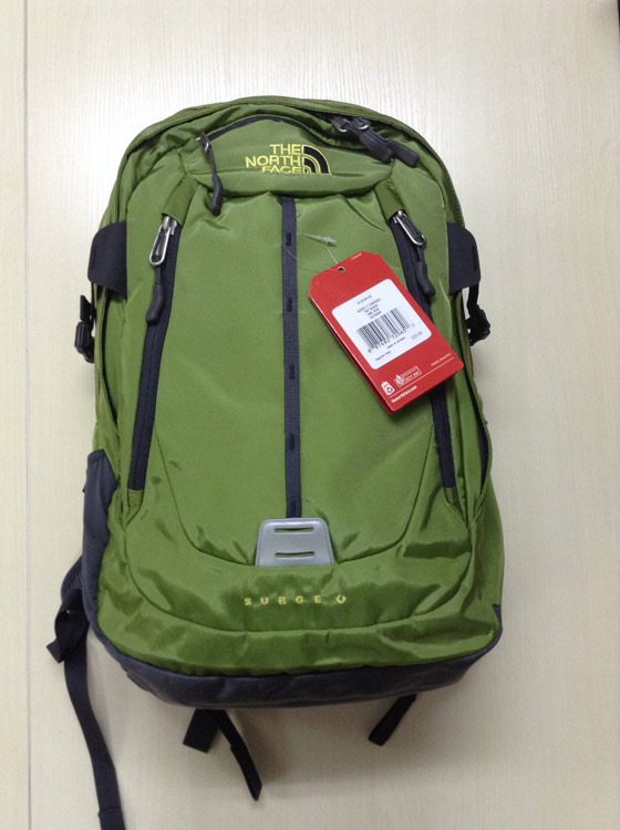 The north face 乐斯菲斯 SURGE II CHARGED 双肩登山包 电脑包32升